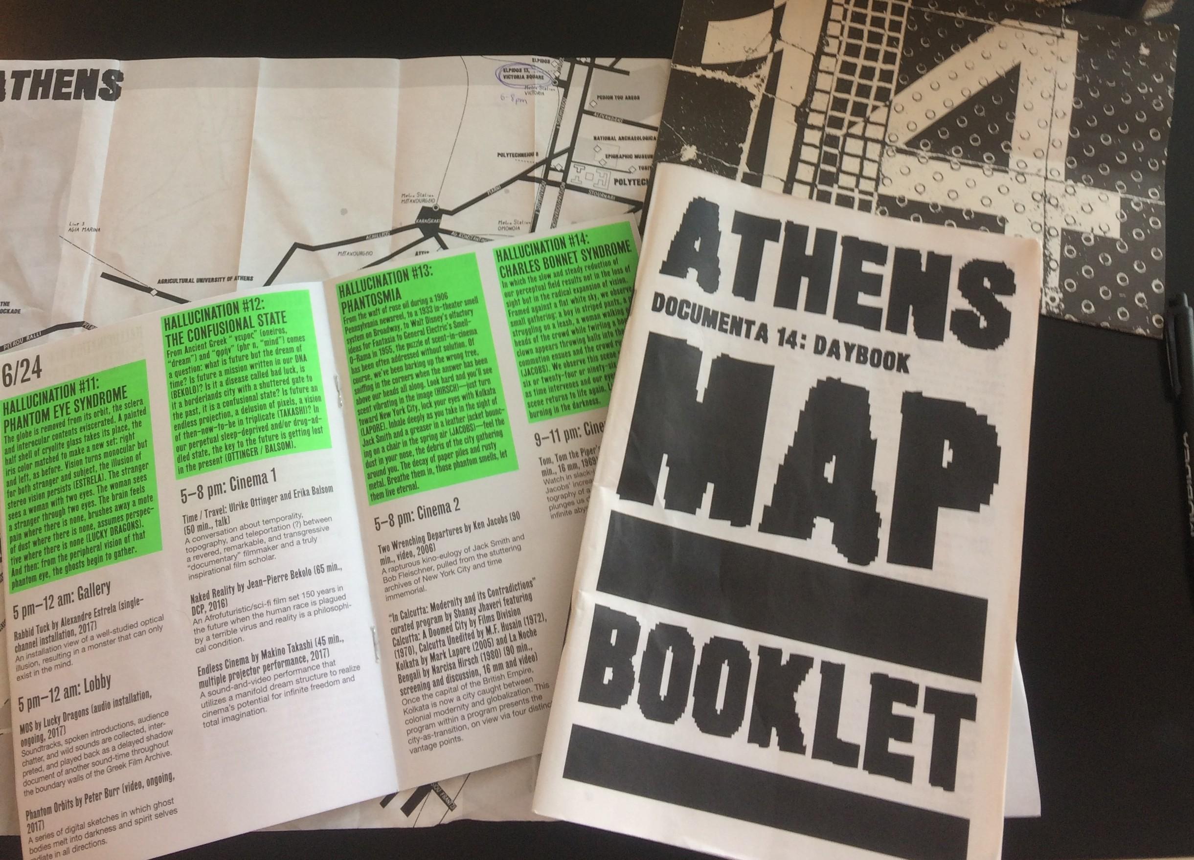 documenta 14 booklet